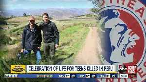Family, friends hold celebration of life for Bradenton teens killed in Peru [Video]