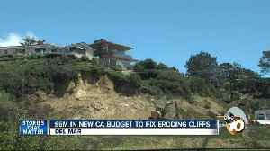 $6M in new CA budget to fix Del Mar cliffs [Video]