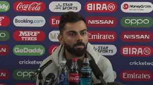 News video: Virat Kohli plays down hype ahead of India-Pakistan World Cup meeting