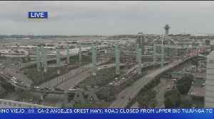 Lanes Closed At LAX As Automated People Mover Construction Begins [Video]