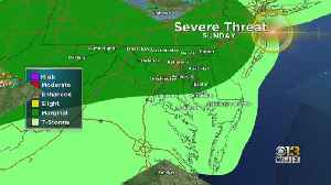 Chance For Severe Storms Father's Day Sunday [Video]