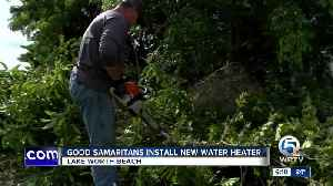 Good Samaritans install new water heater at home in Lake Worth Beach [Video]