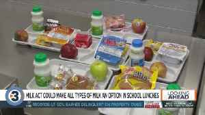 The MILK Act would allow schools to serve all types of milk [Video]
