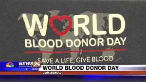 World Blood Donor Day [Video]