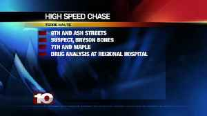 Terre Haute man arrested after high speed chase [Video]