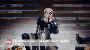 Madonna Cannot Stand A Messy Situation [Video]