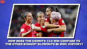 News video: World Cup Daily:  Will the USWNT's Blowout Win Over Thailand Translate Into a Deep Tourney Run?