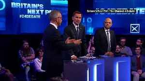 Conservative leadership hopefuls take part in live debate [Video]