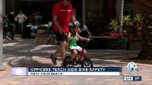 Police teach kids bike safety in West Palm Beach [Video]