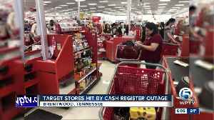 Target down: Cash registers not working at Target locations nationwide [Video]