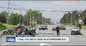 One dead, three taken to ECMC following West Seneca crash [Video]