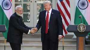 News video: India Increases Tariffs On US Goods After Trump Action On Trade