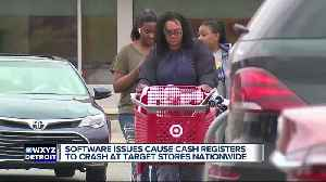 Target registers crash nationwide due to software issues [Video]