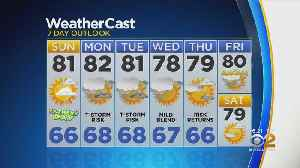 New York Weather: CBS2 6/15 Weekend Forecast [Video]