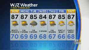 Bob Turk Has A Look At Your Saturday Evening Forecast [Video]