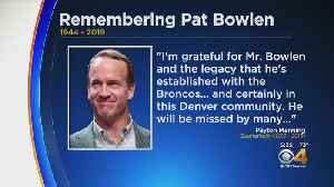 Peyton Manning On Passing Of Pat Bowlen [Video]