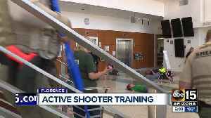 Arizona agencies participate in active shooter training exercise in Florence [Video]