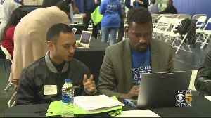New Chase Center Hosts Job Fair for Future Employees [Video]