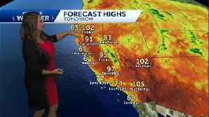 Father's Day warm temps, getting warmer on Monday. [Video]