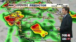 Forecast: Father's Day will be much like Saturday with afternoon and evening storms [Video]