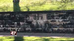 Vandals paint swastika at cemetery where WWII veterans are buried [Video]