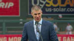Twins Retire Joe Mauer's No. 7 Jersey [Video]