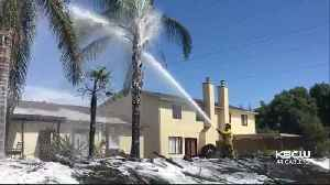 Illegal Fireworks Sparked Blaze That Damaged 1 Antioch Home, Threatened Others [Video]