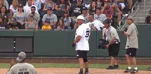 First-ever Battle for Vegas Charity Softball Game [Video]