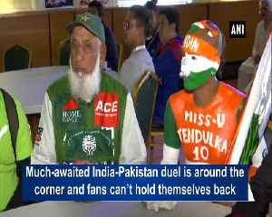Cricket superfans Sudhir, 'Chacha' come together to celebrate ahead of India Pakistan clash [Video]