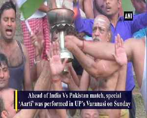 Special 'Aarti' and 'Hawan' performed in UP ahead of India vs Pakistan clash [Video]