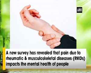 Suicidal tendencies linked to rheumatic musculoskeletal diseases claims study [Video]
