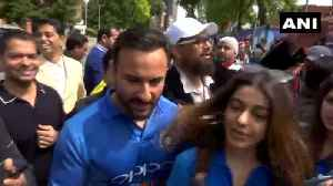 'It's just a game': Saif Ali Khan on India vs Pakistan match [Video]