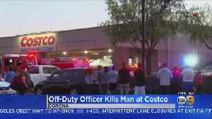 News video: No Word Yet On Whether Off-Duty Officer Will Be Charged In Deadly Shooting At Costco In Corona