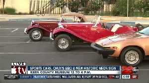 Sports car fans, grab your father and head to the Kern County Museum [Video]
