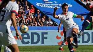 News video: Carli Lloyd Scores Crazy Goal In Match Against Chile