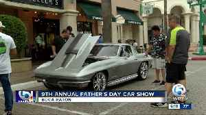 9th annual Father's Day Car Show held in Boca Raton [Video]