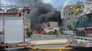 Massive Structure Fire Erupts On Sea Isle City Waterfront [Video]