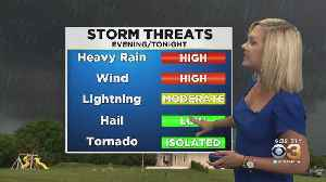 Philadelphia Weather: Daily Risk For Severe Storms [Video]