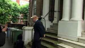 Boris Johnson flees from reporters and runs from questions [Video]