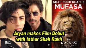 CONFIRMED: Aryan makes Film Debut with father Shah Rukh with 'THE LION KING' [Video]