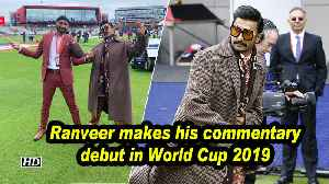 Ranveer Singh makes his commentary debut in World Cup 2019 [Video]