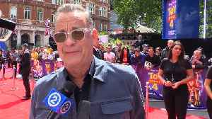 Tom Hanks 'bows his head' to the Pixar geniuses behind 'Toy Story 4' [Video]