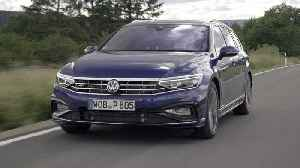 2019 Volkswagen Passat Estate R-Line Driving Video [Video]