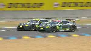 Aston Martin Racing GTE Pro victory in 2007 [Video]