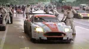 Aston Martin Racing GT1 victory in 2008 [Video]