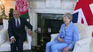 Theresa May meets Afghanistan president at 10 Downing Street [Video]