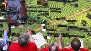 War Games! 20,000 Miniature Figures Recreate Battle of Waterloo for Charity Event [Video]