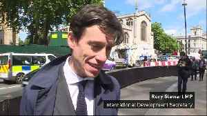 Rory Stewart rules out serving in a Boris Johnson cabinet [Video]