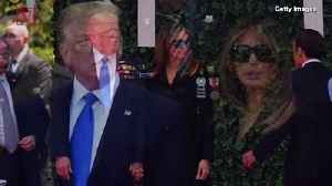 Here is the Reason Why Melania Trump Wears Sunglasses at Public Events : Report [Video]