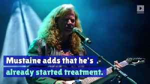 Megadeth's Dave Mustaine Announces He Has Throat Cancer [Video]